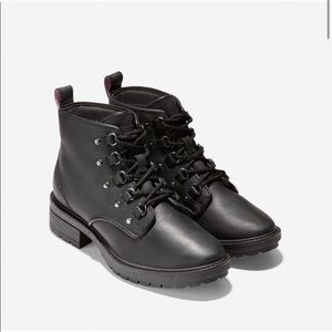 Cole Haan Briana Grand lace up hiker boot 5.5